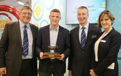 New-style Dairy Student Award crowns Joshua Thompson as winner